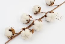 Artificial Cotton Branch