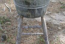 gheridon scaun galeata