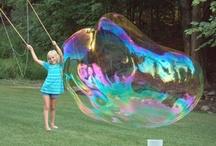 huge bubbles