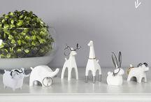 Porta Anéis de Animais - Linha branca e Cromo <3 / Para guardar seus anéis ou para decorar a casa! Podem ser colocados na cozinha ou perto à pias, para quando você for cozinhar ou lavar as mãos!