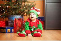Strój dla dzieci święta mikołaj elf / Prezentuje stroje ręcznie szyte przeze mnie. Są idealne na dziecięce sesje z okazji świąt. Jest kilka wersji, zarówno dziewczynka jak i chłopiec znajdzie coś dla siebie. Zapraszam na stronę www.myszka-stroje-foto.pl