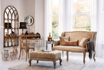 Shop The Look - Rustic Elegance / Shop the look of this rustic elegant living space. This pinboard features a rustic interior design style and allows you to shop all the products featured in the shot.