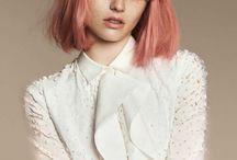 peach hår