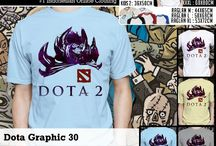Dota 2 T- shirt | kaos Dota 2 / now available on ebay http://www.ebay.com/itm/181267510448?ssPageName=STRK:MESELX:IT&_trksid=p3984.m1555.l2649