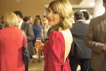 Laura Chamorro para Manuela va de fiesta / La periodista y presentadora Laura Chamorro es madrina y embajadora de nuestra marca. Así de bien luce nuestros vestidos en sus actos.