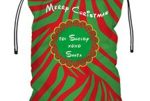 Santa Bag - Personalized