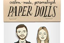 Personalised paper cut outs