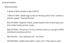 The best phone Numbers ever