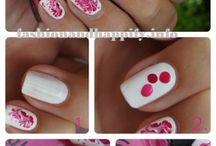 nail bow art