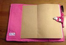 capa de agenda / Capas em tecido de agenda / bloco. Pode ser retirado e lavado.