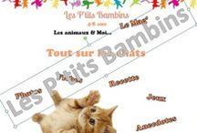 Les P'tits Bambins - Le Mag' / « Les P'tits Bambins – Le Mag » est LE e-magazine pour vos loulous. Destiné aux enfants de 4 à 8 ans, 1001 thèmes de découvertes : animaux, pays, religion, écologie…