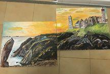 Mes peintures / Peinture acrylique