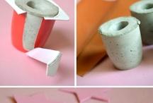 arte com cimento