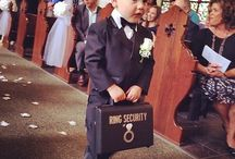 Flower Girls and Ring Bearers - Cute Squad / Wedding Ideas for the wee ones in your entourage. Ring Bearer and Flower girl Ideas that steal the show!