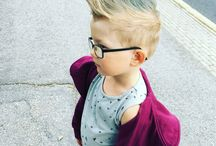 Kid's hair styles