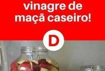 Vinagre caseiro
