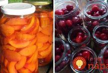 Sterilizované ovocie,zelenina