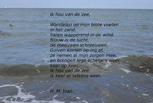 Gedichten over de zee.