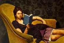 -pinturas italianas ou francesas