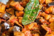 Plats divers / Aubergine mozzarella