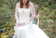 Get The Look / A stylized photo shoot with Rocky Mountain Bride Montana.