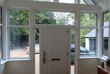 Porch Extensions / Glazed Gable Porch extensions created by JPK Design Ltd