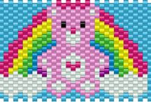 Cross stitch/beads / by Emily Large