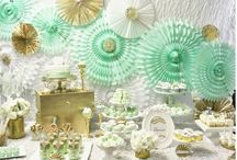 Baby shower Mint Green