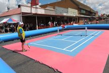 Tennis Themed Inflatables / Tennis related inflatables to help you explore the world of inflatables.