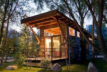 casas cabaña