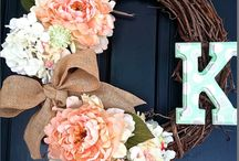 Wreaths / by Farah Lynn Designs