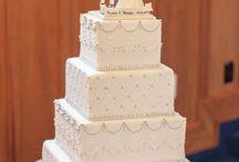 Wedding Cakes / Here are some of the wonderful wedding cakes I have come across while working on a wedding.