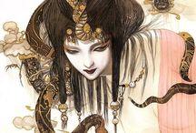 Illustration - Yoshitaka Amano
