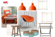 Mood Boards / Combine feelings with colors,shapes and materials to set up the perfect mood