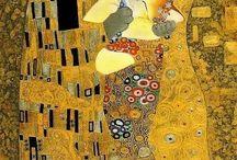 Art / Umění konec 19. a poč.20. stol./  Art / Gustav Klimt (secese), Pablo Picaso ,