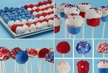 American cake stall