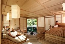 Sauna paradise / Valuable wood, exquisite manufacture, clear architecture, professional infusions, beach area, palm trees and more complete the perfection of paradise to the more than 15 saunaattractions at the THERME Bad Wörishofen.