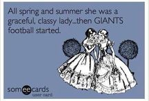 best team in the NFL...Giants / by Manda-man Stag