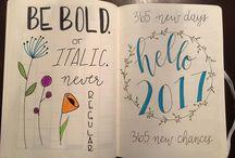 bullet journal ...start