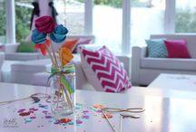 """Un casamiento a todo color! / by HNAS. Martín Martin """"objetos de diseño inspirados en momentos felices para festejar"""""""