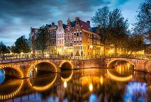Amsterdam / Renkli evler, yel değirmenleri, bisikletler, laleler, kanallar ve her adımda ayrı heyecan. AMSTERDAM.
