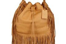 Frilly handbags