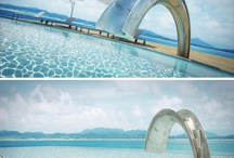 Pools / Different designs of pools. / by Peety Goring