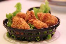 Rántott csirkék