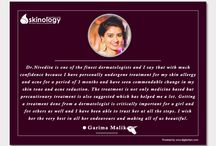 Patient Testimonials / We love to hear about our patients experiences  at Dr. Nivedita Dadu's Dermatology Clinic. Your appreciation is extremely valuable to us and will help us in maintaining and improving of the highest treatment standards. It also encourages our clinic staff continuously to offer the best service to all our patients. Read what our happy clients are saying about our services. For Further Updates please log on to www.drniveditadadu.com