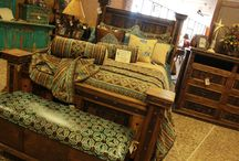 Rustic Bedrooms / Bedroom furniture and decorations we love!