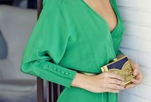 vestidos verdes