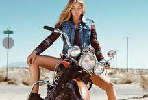motorcycle gırl