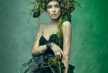 Nature Couture / An inspiration board of dresses made from flowers and nature for the 2016 Burst: Runway show of wearable art. (not-for-profit Fundaiser) / by Emily Barnett