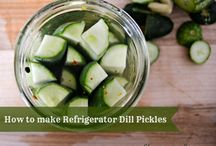 Can it, pickle it, preserve it! / Recipes to preserve the harvest / by Jennifer Fox